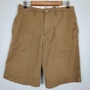 Quicksilver Men's Khaki Shorts Size 30
